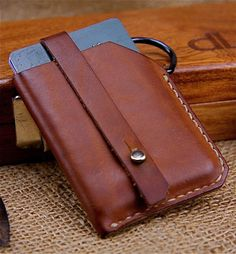 Custom Hand Sewn Horween Leather Wallet + 8 months
