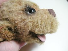 Teddy Bears Tutorials: Open mouth