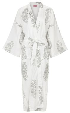 Dressing Gown Paisley Olive on White: http://www.susannahcotton.co.uk/store/prod_2941158-Dressing-Gown-Paisley-Olive-on-White.html