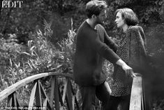 Lily Collins and Sam Claflin get cosy for intimate shoot for The Edit | Daily Mail Online