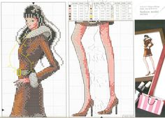 Cross Stitch *<3* Fashion model 8