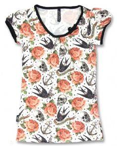 ROSE TATTOO , Liquorbrand Women, T-shirts at Switchblade Clothing