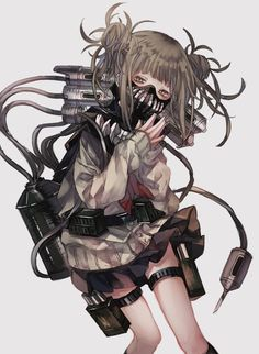 Himiko Toga (My Hero Academia) Boku No Academia, Buko No Hero Academia, My Hero Academia Manga, Yandere Girl, Yandere Anime, Asuna, Deku Anime, Fan Art Anime, Yuno Gasai