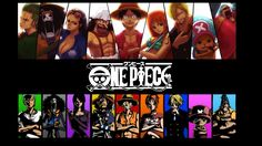ONe piece Characters!!