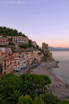 Torre di Cetara, Campania. Cetara is a town and commune in the Province of Salerno in the Campania region of south-western Italy.  Cetara is located in the territory of the Amalfi Coast.