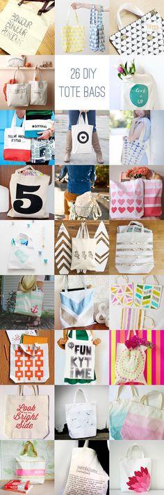 26 DIY Tote Bags | HelloGlow.co
