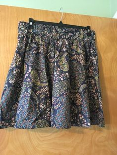 H&M Floral Print Skirt Size Large #fashion #clothing #shoes #accessories #womensclothing #skirts (ebay link)