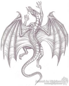 dragon tattoo drawings | Climbing Dragon - 2007 by *Nightlyre on deviantART