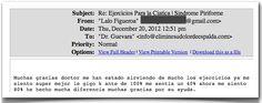 Testimonio 89 - Elimine Su Dolor de Espalda    http://www.ElimineSuDolorDeEspalda.com/blog