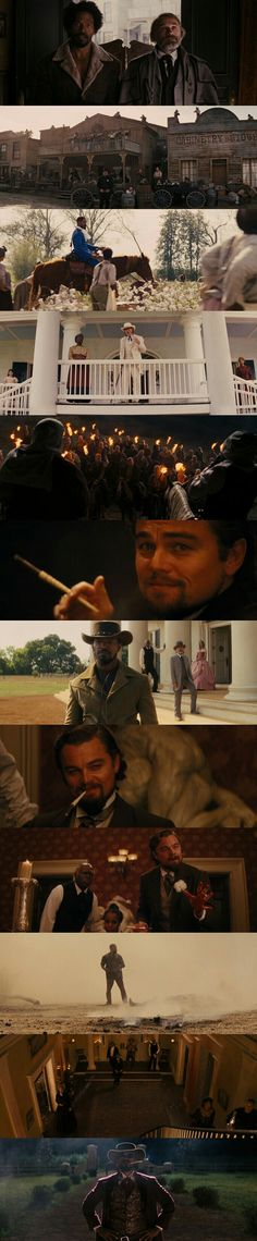 Character Shots from Django Unchained (2012) Written and Directed by Quentin Tarantino.