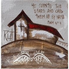 Canvas Prints : He Counts The Stars Art Journal Inspiration, Canvas Prints, Decorative Painting Projects, Oil Painting, Easter Paintings, Cool Art, Art Journal, Angel Art, Prints