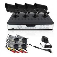 Zmodo PKD-DK4216 Surveillance Camera Kit with 4-Channel H.264 DVR and 4 Indoor/Outdoor IR Cameras - Hard Drive Not Included - http://www.rekomande.com/zmodo-pkd-dk4216-surveillance-camera-kit-with-4-channel-h-264-dvr-and-4-indooroutdoor-ir-cameras-hard-drive-not-included/