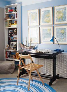Organizing School Supplies & Study Spaces