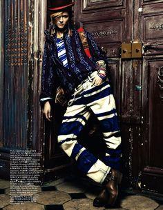 Kasia Struss by Knoepfel & Indlekofer for Vogue Paris April 2013