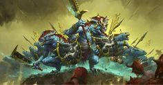 SERAPHONS #ageofsigmar #warhammer #art #fantasy #aos #gamesworkshop #Seraphon