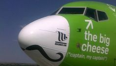 Kulula Airlines (South Africa) doing Movember right