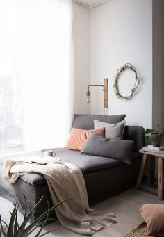 My daybed update / 15% off at Bemz!