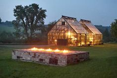 I like so many elements of this shed, greenhouse/solarium, home.