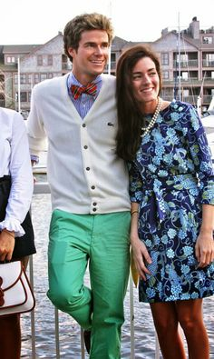 Classy Girls Wear Pearls: From Boat Shoes to Blazers