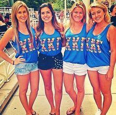 Arizona State, Epsilon Delta Chapter, showing off their #KKG shirts! #KKG1870