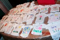 entertaining next generation housewife decorate onesies baby shower ideas hip mommies 500x333