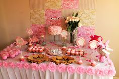 Sarah's Never-Ending Projects: Party for our Little Rose