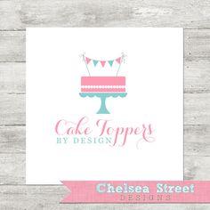Premade logo and watermark design  cake di chelseastreetdesigns, $25.00