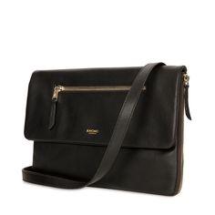 Elektronista Digital Clutch Bag - Black Leather   KNOMO good god one of the best inventions yet......bravo!