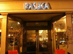 rasika restaurant - amazing indian restaurant in DC