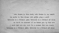 Trouble is a Friend by Lenka