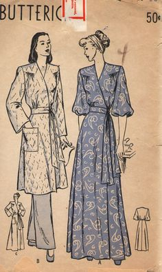Vintage 1930s Butterick Sewing Pattern 4151 by SewAddicted2SewMuch