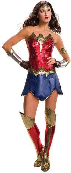 Batman v Superman: Dawn of Justice - Deluxe Wonder Woman Costume For Women from Buycostumes.com