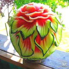 Astonishing Watermelon Carvings -  food art : stylisheve