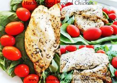 Clean Eating Dinner Idea – Herb-Rubbed Broiled Chicken | Diet Meals and Easy Healthy Recipes that Help Me Lose Weight