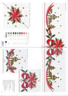 Cross Stitch Christmas Cards, Xmas Cross Stitch, Cross Stitch Books, Cross Stitch Borders, Christmas Cross, Cross Stitch Designs, Cross Stitching, Cross Stitch Embroidery, Cross Stitch Patterns