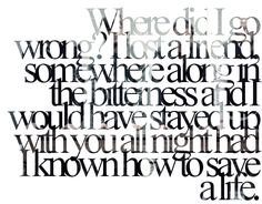 How To Save A Life - The Fray <3