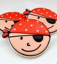 Recetas infantiles: Cómo decorar galletas para una fiesta pirata