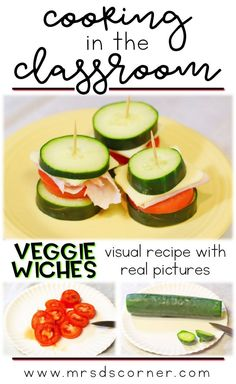 Veggiewiches recipe