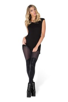 I Eat Mice Bootleg Sheer Leggings by Black Milk Clothing $90AUD ($85USD)
