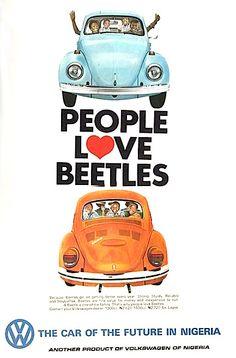 Ad from Nigeria - People Love Beetles