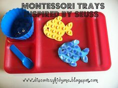 Montessori activities inspired by Dr. Seuss
