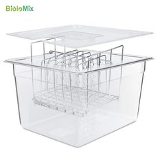 Share image Bulk Cooking, Sous Vide Cooking, Cooking Appliances, Home Appliances, Container Prices, Nice Rack, Large Containers, Digital Timer, Stuffed Whole Chicken
