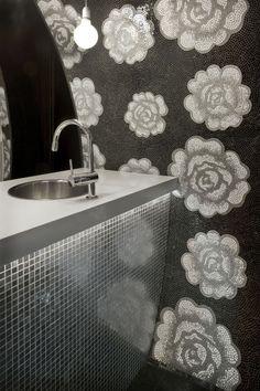 amazing flower mosaic tiles