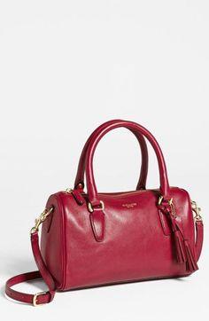 COACH Legacy Mini Leather Satchel Bag 49292 Bordeaux Red Crossbody Retail 228 #Coach #Satchel