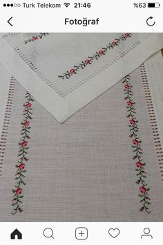 This post was discovered by Yasemin Svr. Discover (and save!) your own Posts on Unirazi. Cross Stitch Borders, Cross Stitch Rose, Cross Stitch Designs, Cross Stitching, Cross Stitch Embroidery, Stitch Patterns, Sewing Patterns, Floral Embroidery, Hand Embroidery