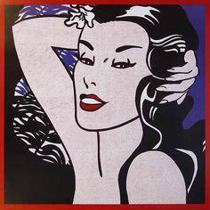 Roy Lichtenstein 1962 - LITTLE ALOHA