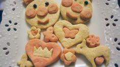 在小時候一定會看過麵包超人的卡通片,麵包超人是日本的卡通人物,經常幫助肚餓的小朋友,會把臉分給他們吃。把可愛的樣子做成餅乾,令人難以抗拒!