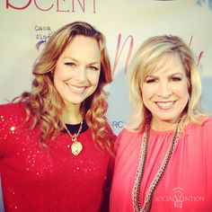 Oklahoma own Cindy Morrison and  wonderful actress Melora Hardin, from The Office, at an Original Scent event in LA! It was so fun meeting her!  #socialvention #socialmedia #originalscent #theoffice