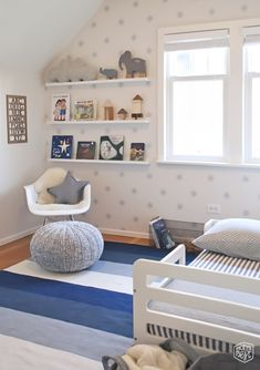 Darling Modern kids space… the easy transition from nursery to toddler space via momsbestnetwork.com