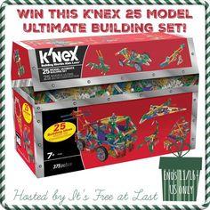 Win a K'NEX 25 Model Ultimate Building Set